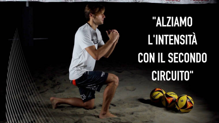 Allenamento 002 – Alziamo l'intensità del mini circuito per il beach volley